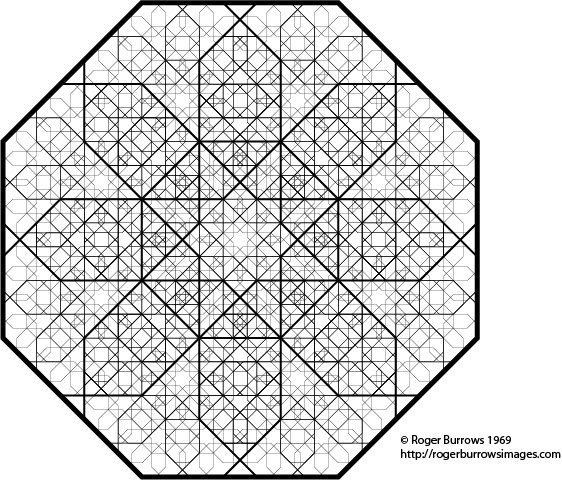 Creative Geometry Octagon Design