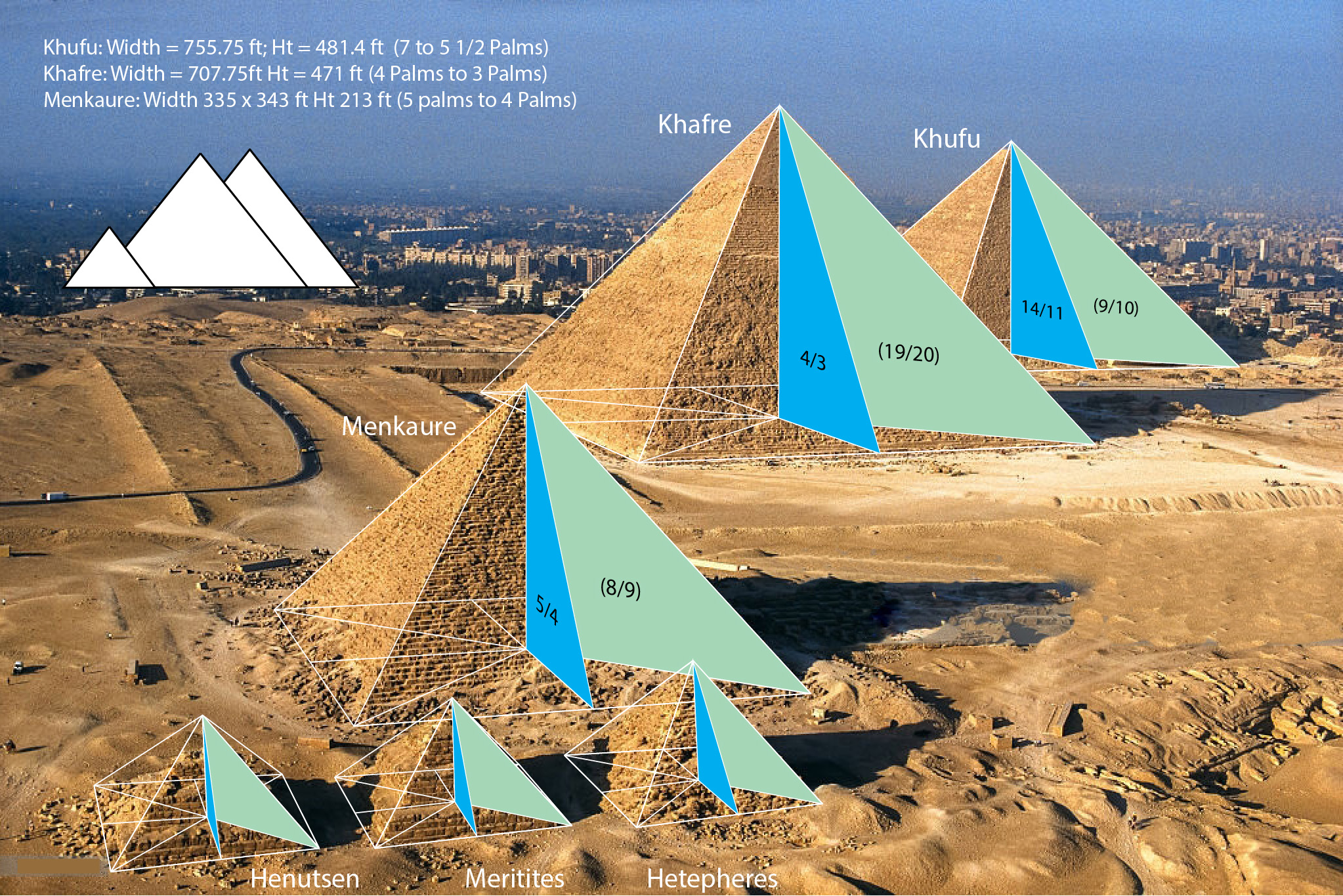 Geometry ancient egypt pyramid proportions 3d thinking for Architecture design company in egypt